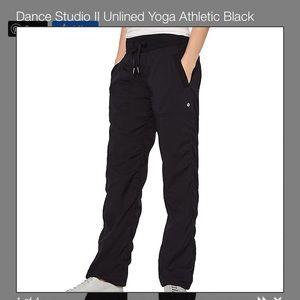 Lululemon dance studios yoga pants 6